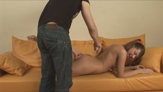 Lucky casting director fucks a young model