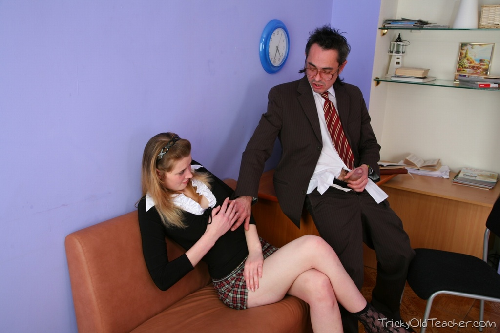 Tricky old teacher inga is a sexy young student 10