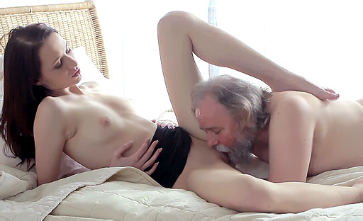 Alina has one of the tightest pussies we've ever seen. See her fuck a teacher with it!