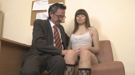 Tricky instructor fucked his coed Sally