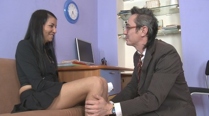 Jenny rides teachers fat dick and gets an incredible orgasm