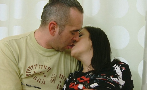 Alena gets on top of her mans cock and he fucks her deeply as she rides him