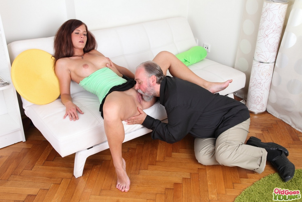 image Busty russian redhead takes a hot cock ride