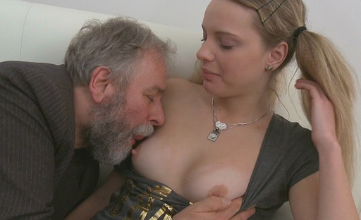 Jane had always dreamed of fucking an older guy but never counted on this happening.