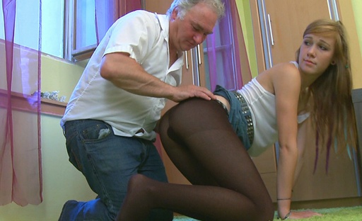 Sindy gets more than she bargained for with this old dude He fucks her good and proper