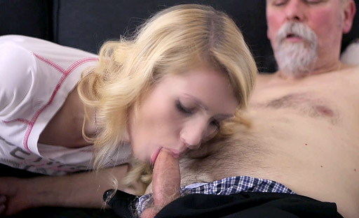 Sexy Helena gets fucked hard from behind by old goes young fan