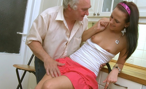 Luba loves to get it mention with the older dudes