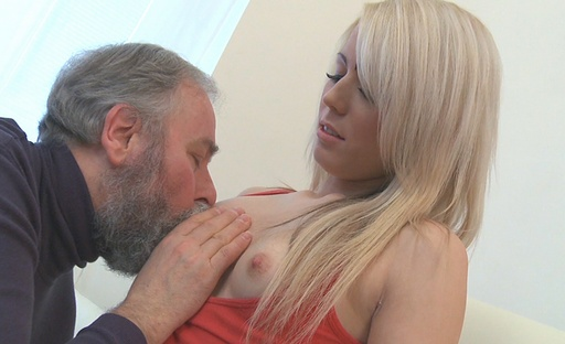 Nona never thought she'd be fucking an old guy like this when she was with her boyfriend