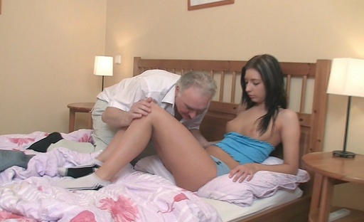 Zarina realises that to become good in bed you simply have to fuck an shopworn guy