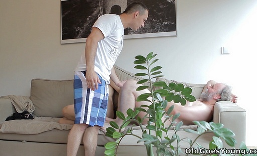 After getting eaten out, Ilona has her legs spread wide open and fucked deeply