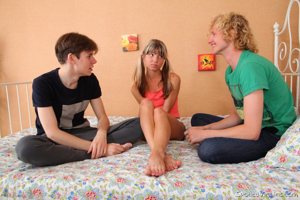 Spoiled virgins penelope is a young and erotic blonde but a virgin