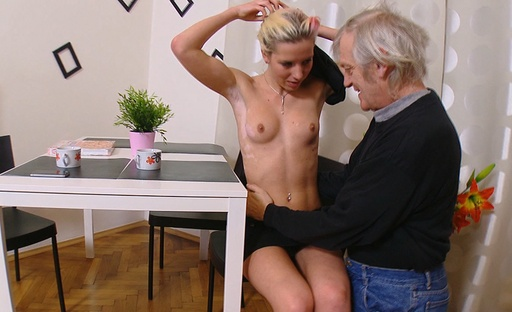 Nelya is bent over and have sex in the butt by her older man and she takes him After some fucking, Nelya is bent over and her backside is have sex deep and violent by his dick. She loves his dick in her backside and her backside filled with violent dick today. Nelya.